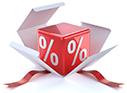 Discounts on reorders