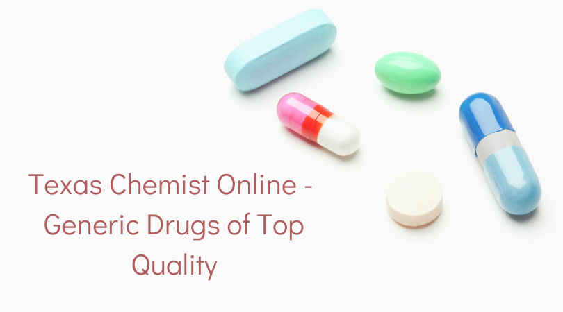 Texas Chemist Online - Generic Drugs of Top Quality